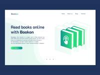 Bookon Landing Page
