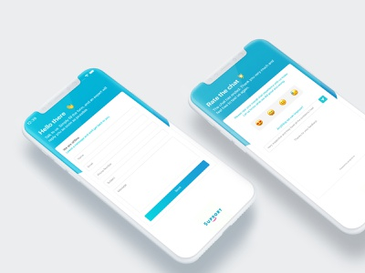 Chat Support UI ux design mobile ux ui support chat