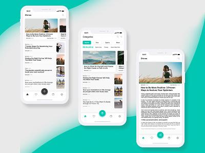 Shineo Mobile App modern colorful branding typography vector mock up simple ux mockups screen ui mockup
