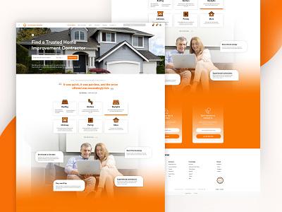 Contractor Booklist Website Design brand typography vector branding ux gradient designer design website uiux ui website design web design webdesign web