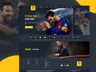 Betting q-Vinci Web Design betting bet brand website design web design webdesign design website basketball messi desgin web casino football soccer