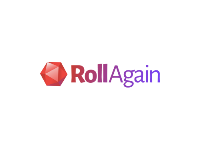 RollAgain logo design