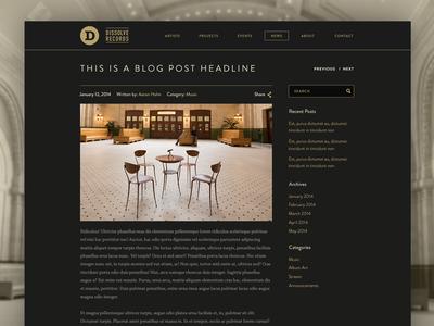 Blog - Post Page