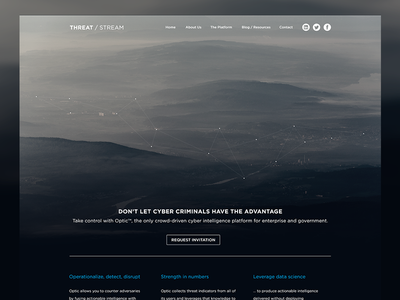 Threat / Stream - Home Page