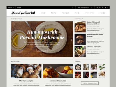Food Editorial