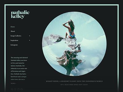 Nathalie Kelley nathalie kelley nat kelley actress portfolio personal website website web design wordpress responsive