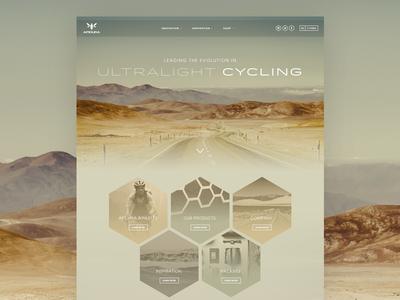 Apidura Alt Home web design cycling apidura colour harmony photography brand