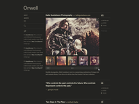 Orwell Dark - Single Column