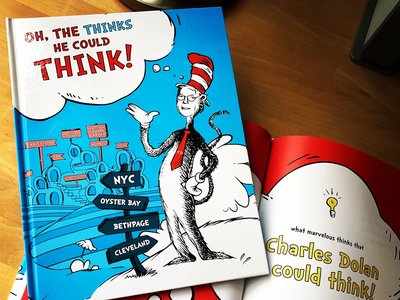 Dr. Seuss Book customillustration goodideas entertainmentagency nycdesignagency graphicdesign bartleyndick nycbrandingagency amcnetworks