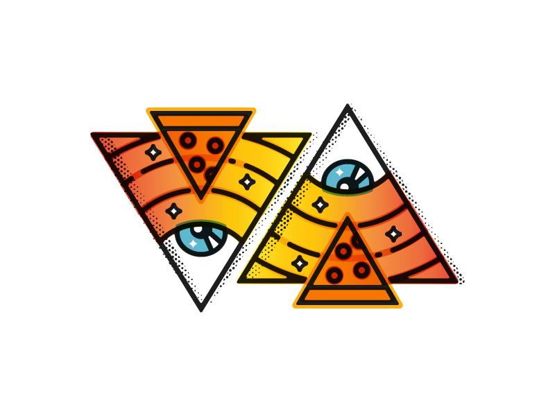 Pizzapyramid