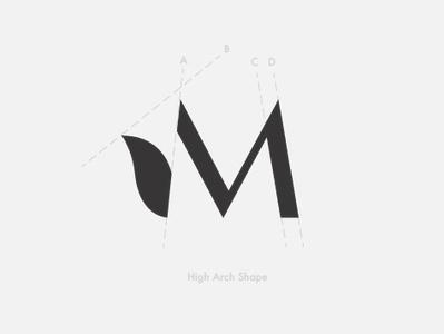 Mayuge Studio - Lettermark mayuge eyebrow tim mac lettermark