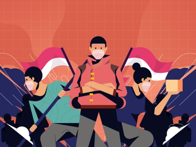 Volunteers infographic volunteers covid19 marketing vector illustration art