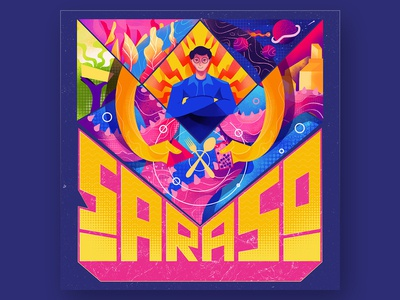 Saraso Studio Illustration