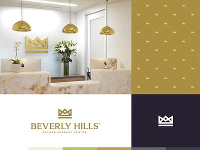 Beverly Hills beverly website identity illustration branding logo icon