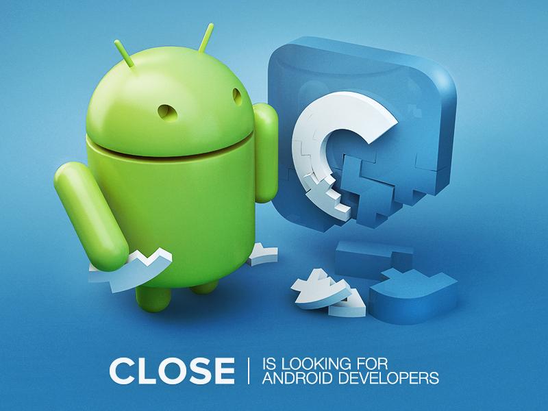 Close is hiring ios icon sketch logo hiring 3d android close app