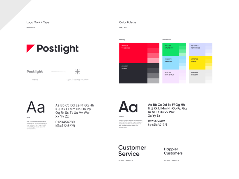 Postlight - Branding iphone sketch mark website app identity illustration logo branding icon