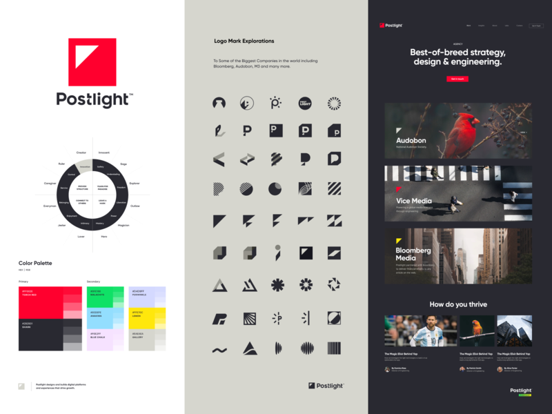 Postlight Branding drawing iphone sketch mark website identity logo illustration branding icon