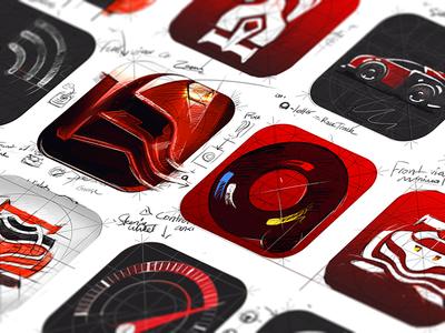 Anki anki iphone ipad ios icon app car wheel speed toy