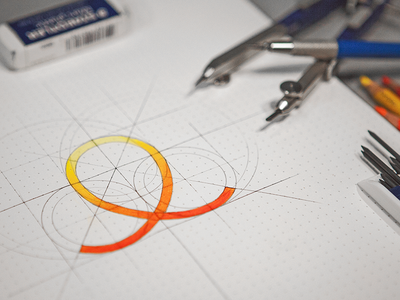 Flexibits logo mark loop icon flexi circle