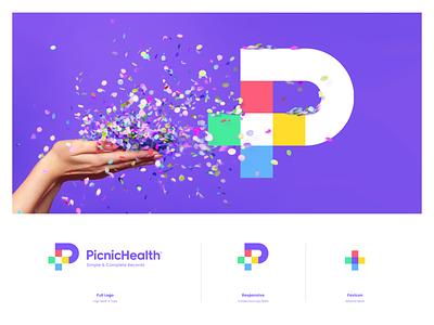 PicnicHealth barahlo web iphone sketch mark identity illustration logo branding icon