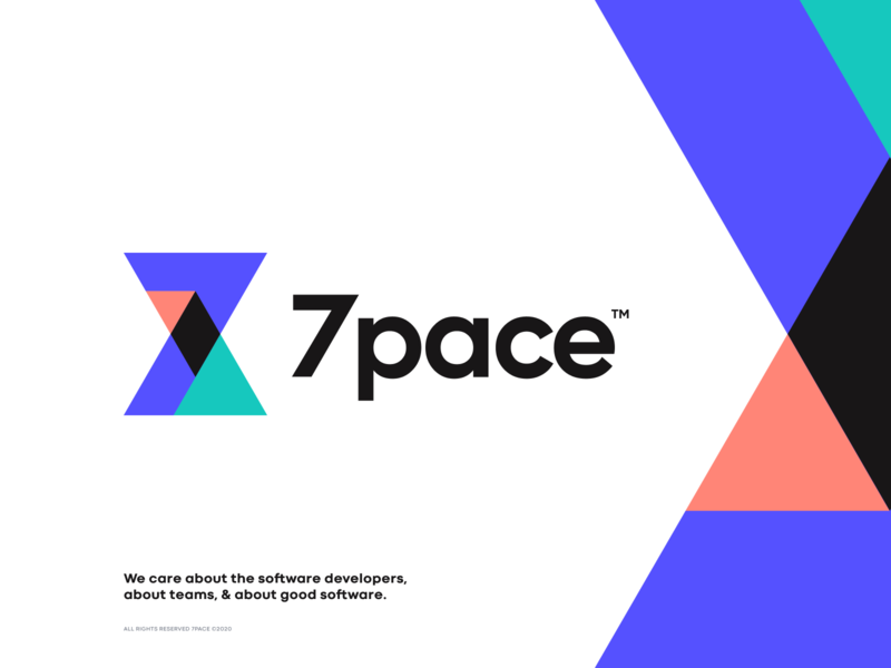 7pace iphone sketch mark website app identity illustration logo branding icon