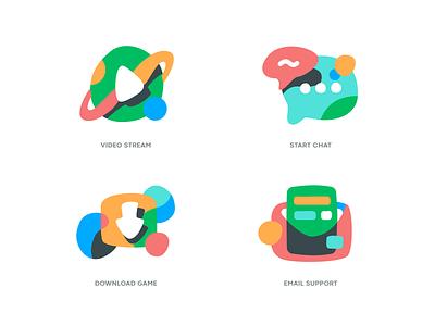 wildicons icons landing drawing mark website app identity illustration logo