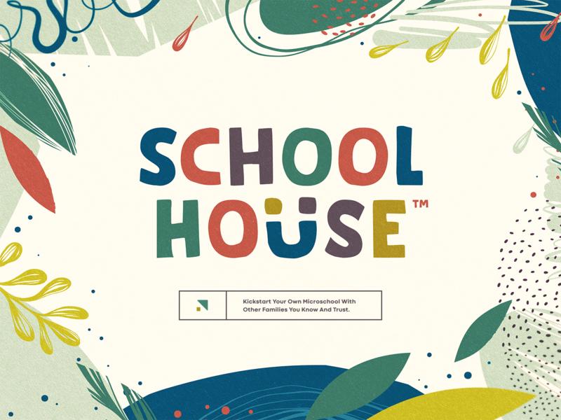 SchoolHouse iphone sketch mark website app identity logo illustration branding icon