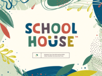 SchoolHouse iphone sketch mark website app identity logo illustration branding icon