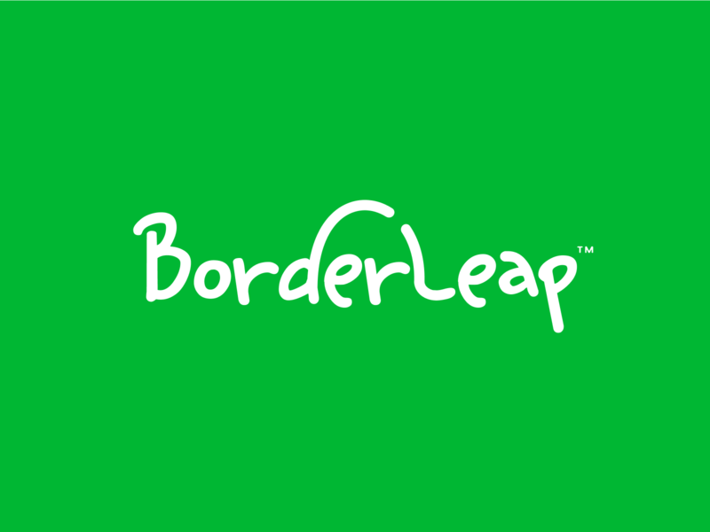 BorderLeap iphone sketch mark website app identity logo illustration branding icon
