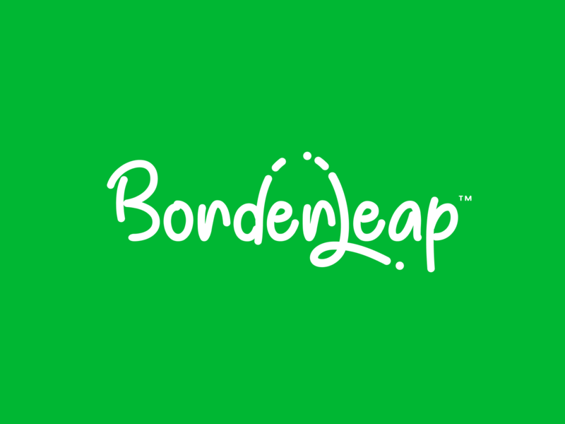 BorderLeap 2 iphone sketch mark website app identity logo illustration branding icon