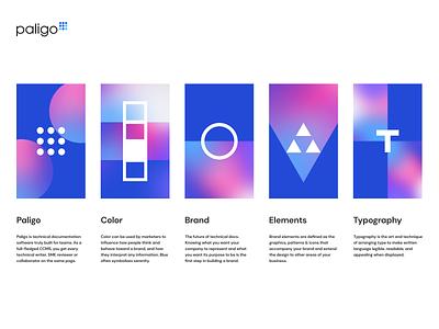 Paligo iphone sketch mark website app identity logo illustration branding icon