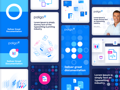 Paligo design iphone sketch mark website app identity logo illustration branding icon