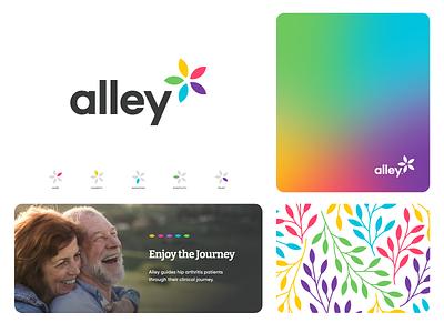 alley branding ui vector design website app identity logo illustration branding icon