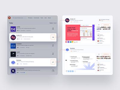 ProductHunt 🚀🚀 ui vector design website app identity logo illustration branding icon