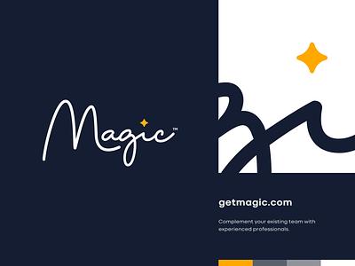 Magic ✨ vector ui design website app identity logo illustration branding icon