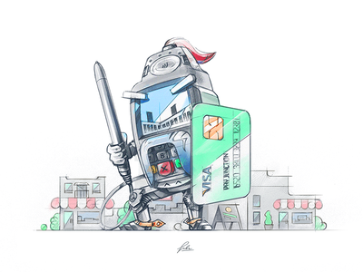 Terminal Knight - Drawing