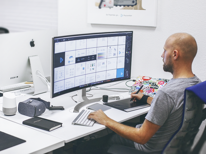 My Workstation By Eddie Lobanovskiy Dribbble Dribbble