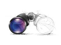 Binocular sketch