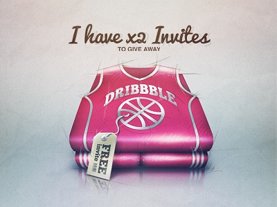 invites invite dribbble invitations invites available uniform basketball tag price sketch icon iphone rough