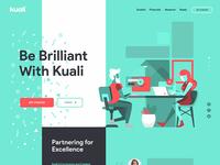 Kuali - Landing Page