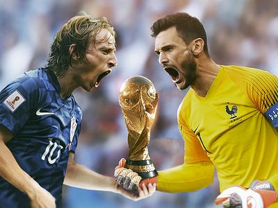 🇫🇷 vs 🇭🇷 hugo lloris mordic luka france croatia cup world football fifa soccer