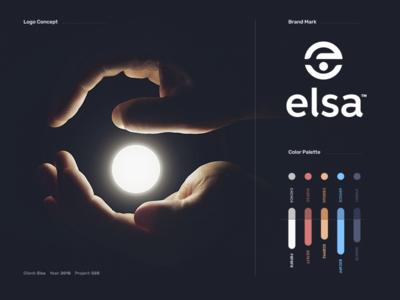 Elsa - Branding crm app hands banners business card logo elsa identity branding