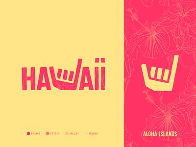 Ha🤙aii mark icon call hang loose hand shaka hawaii logo identity branding