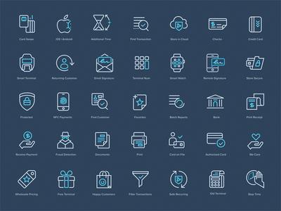 PayJunction - Icon Set