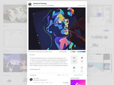 Dribbble - UI Ideas