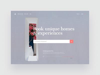 exploration web website banner website design branding