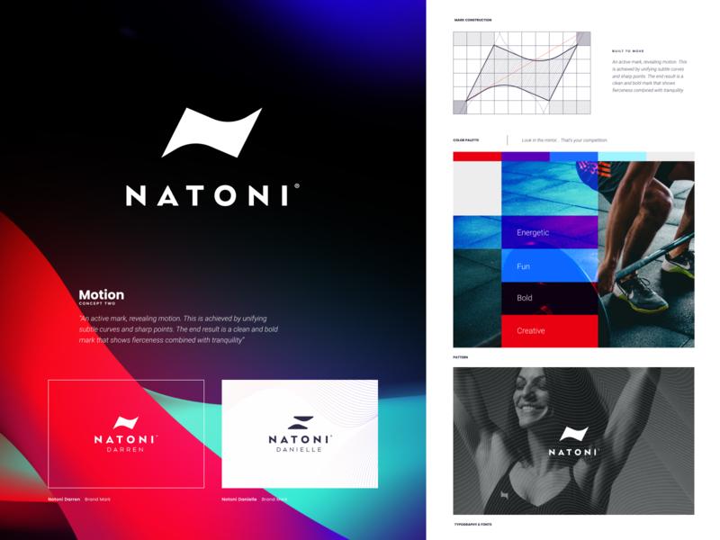 Natoni - Branding health app sport design website sketch identity branding illustration logo icon