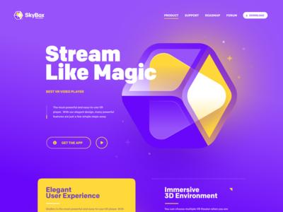 Skybox - Website