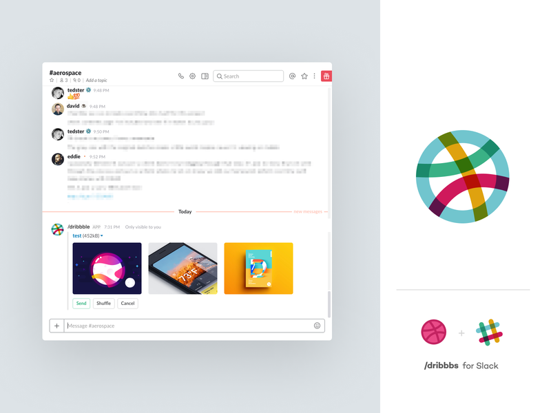 Slack 🏀 slack ux website identity branding app illustration logo icon