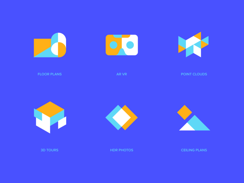 Matterport - Icons ui website identity branding logo icon